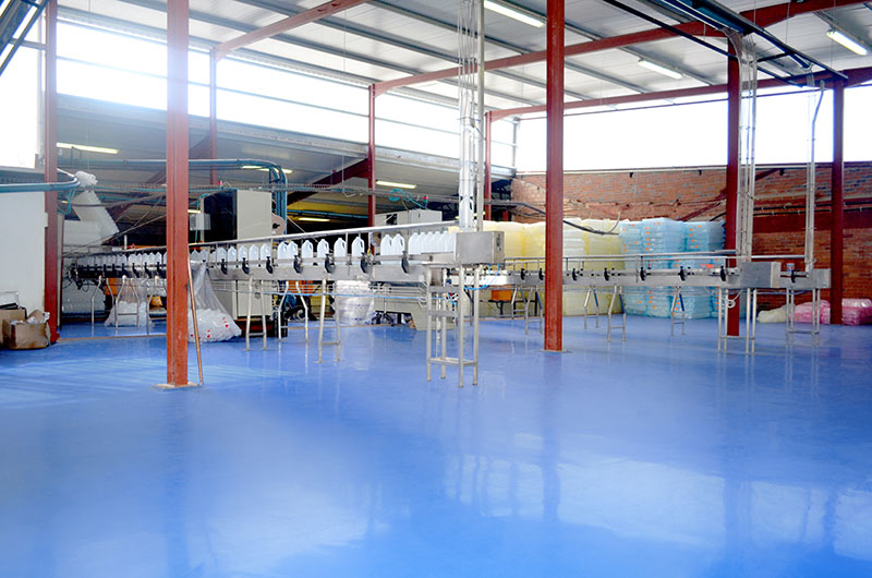Floor Finish for a Dairy Facility