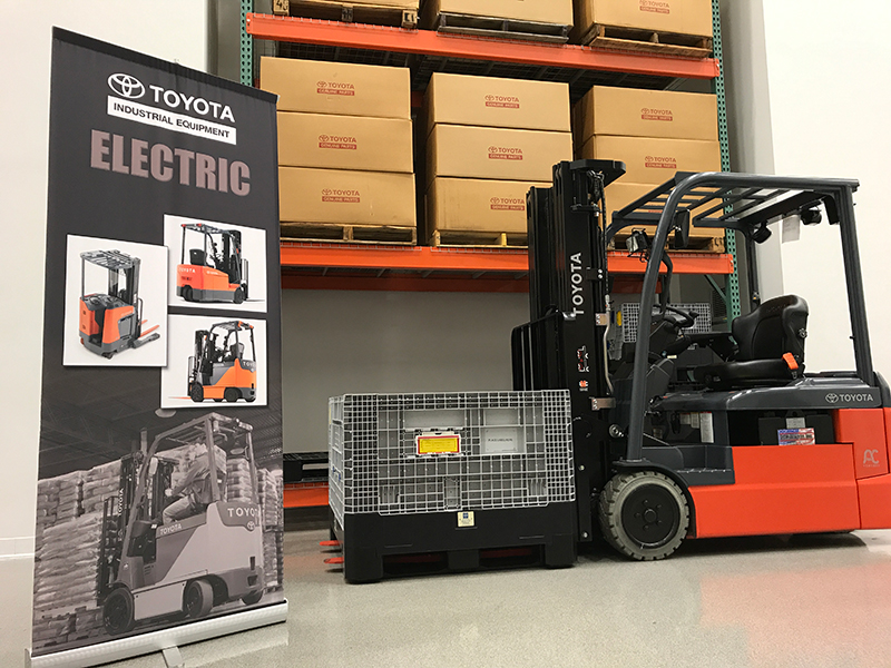 Toyota Columbus Indiana >> The Gold Standard At Toyota Material Handling