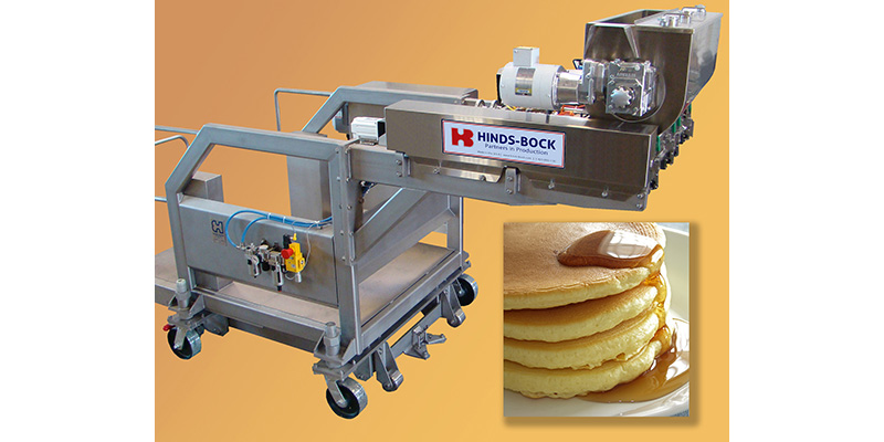 Production manufacturing waffles